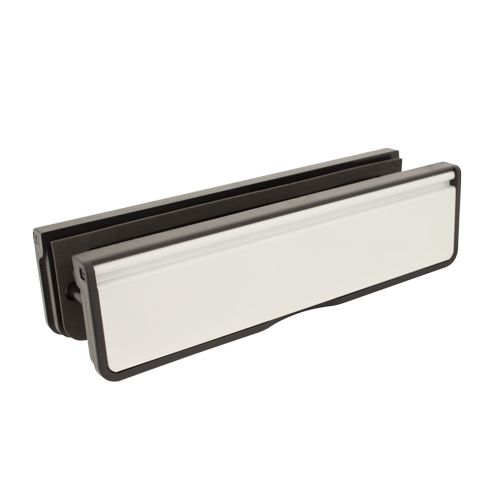 10'' Letterplate for Composite and Timber Doors - 10, 40-80mm Depth
