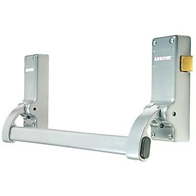 Arrone® Single Door Panic Latch - Silver - AR882
