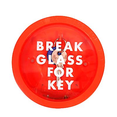 Break Glass Emergency Key Box