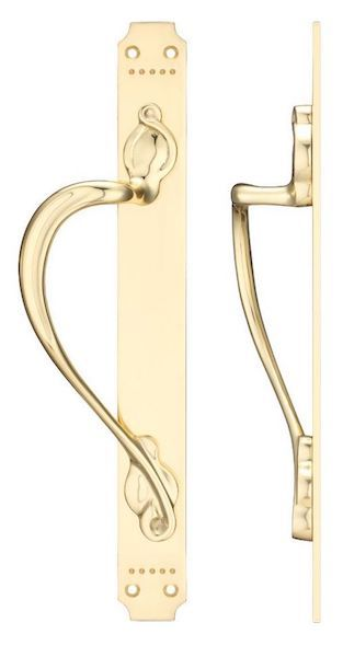 Fulton & Bray FB114 Pull Handle - Polished Brass