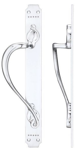 Fulton & Bray FB114 Pull Handle - Polished Chrome