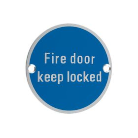 Signage - Fire Door Keep Locked