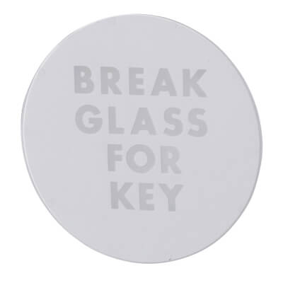 Spare Break Glass Emergency Key Box
